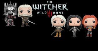 Bonecos Pop! do Game The Witcher 3: Wild Hunt