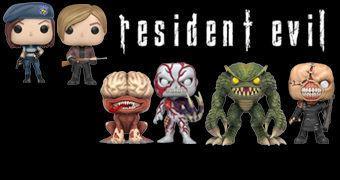 Bonecos Pop! do Game Resident Evil