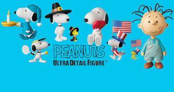 Bonecos Peanuts UDF Série 5 da Medicom Toy Japão