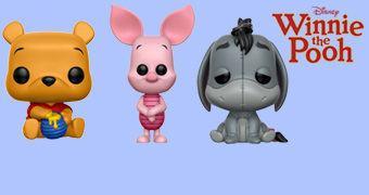 Bonecos Pop! Ursinho Pooh e Amigos (Disney)