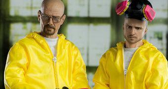 Breaking Bad Heisenberg e Jesse – Action Figures Perfeitas 1:6 Threezero Toys