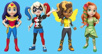 Rock Candy DC Super Hero Girls – Bonecas de Vinil Funko