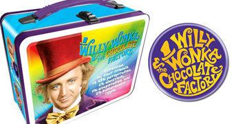 Lancheira Willy Wonka e A Fantástica Fábrica de Chocolate (Filme Clássico)