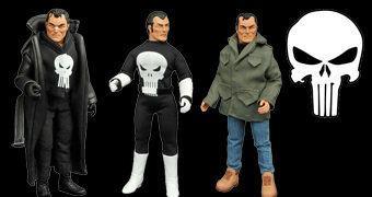 "Punisher Action Figure Retro 8"""