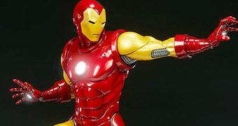 Estátua Iron Man Avengers Assemble da Sideshow Collectibles