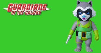 Rocket Raccoon Marvel Retro Sofubi Collection – Boneco de Vinil Medicom Toy