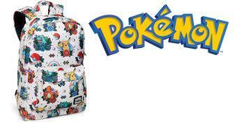 Mochila Pokémon Tattoo Flash Backpack