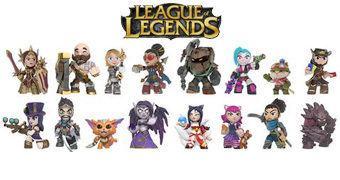 League of Legends Mystery Minis – Mini-Figuras Funko Blind-Box