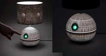 Abajur Estrela da Morte Star Wars (Death Star Desk Lamp)
