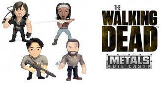 The Walking Dead Die-Cast – Figuras de Metal Jada Toys