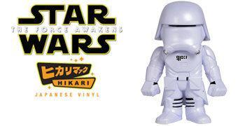 First Order Snowtrooper Hikari Sofubi – Boneco Funko Star Wars em Estilo Japonês
