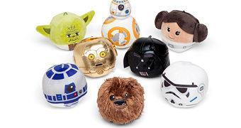 Mini Bolas de Pelúcia Star Wars (Fofura Pura!)