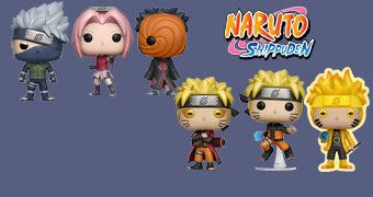Bonecos Pop! Naruto Shippuden