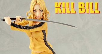 Estátua A Noiva (Kill Bill Tarantino) Estilo Bishoujo – Ilustração de Shunya Yamashita