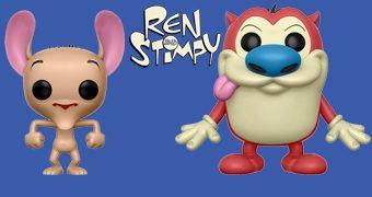 Bonecos Pop! Ren & Stimpy