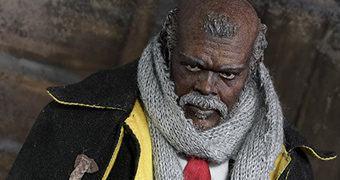 Major Marquis Warren (Samuel L. Jackson) Action Figure Perfeita Os Oito Odiados de Quentin Tarantino