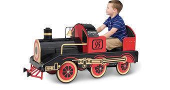 Velocípede Locomotiva a Vapor