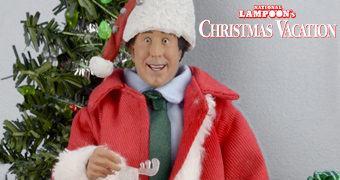 Papai Noel Clark Griswold Jr. (Chevy Chase) – Action Figure Férias Frustradas no Natal de John Hughes