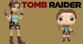 Tomb Raider 20 Anos: Lara Croft Pop! e Rock Candy!