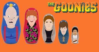 Bonecas Russas Matryoshkas: Os Goonies!