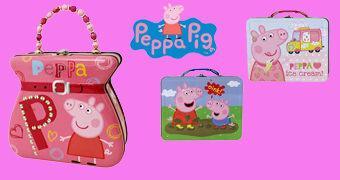 Lancheiras de Lata Peppa Pig