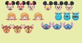 Mini-Figuras Funko Emoji: Disney MyMoji