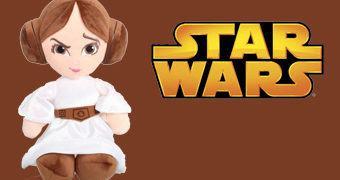 Boneca de Pelúcia Princesa Leia (Star Wars Episódio IV)