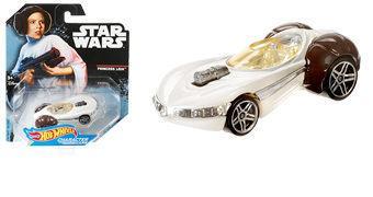 Carrinho Hot Wheels Star Wars: Princesa Leia
