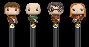 Canetas Funko Pop! Pen Harry Potter Quadribol