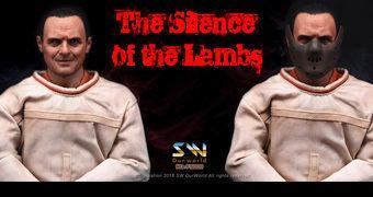 Hannibal Lecter (Anthony Hopkins) em O Silêncio dos Inocentes – Action Figure Escala 1:6