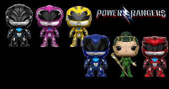 Bonecos Pop! do Filme Power Rangers (2017)