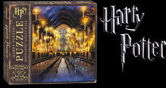 Quebra-Cabeça Harry Potter The Great Hall – O Salão Principal da Escola de Magia e Bruxaria de Hogwarts