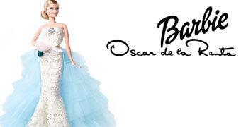 Boneca Barbie Oscar de la Renta