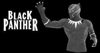 Cofre Black Panther (Pantera Negra) em Capitão América: Guerra Civil