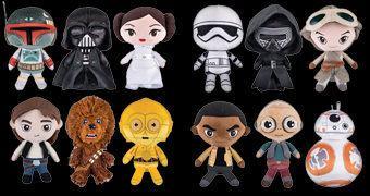 Star Wars Galactic Plushies – Novos Bonecos de Pelúcia Funko