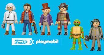 Action Figures Funko x Playmobil com 15 cm de Altura!