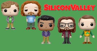 Silicon Valley Pop! – Bonecos de Vinil da Série da HBO