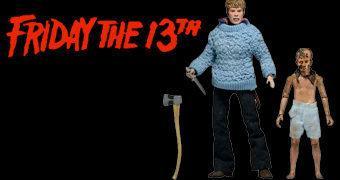 Sexta-Feira 13 Action Figures Retro: Pamela Voorhees & Jovem Jason