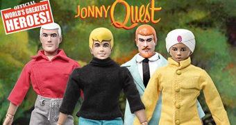 Action Figures Retro do Desenho Animado Jonny Quest!