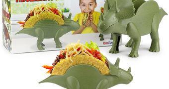 Porta-Tacos TriceratTACO Tricerátopo!