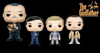 The Godfather Pop! – Bonecos Funko de O Poderoso Chefão