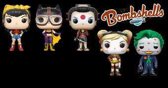 DC Bombshells Pop! em Estilo Pin Up Anos 40