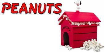 Casinha do Snoopy Pipoqueira de Microondas!