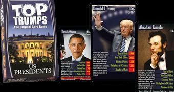 Super Trunfo Presidentes dos EUA: George Washington a Donald Trump