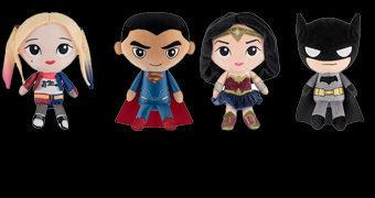 DC Comics Hero Plushies – Bonecos de Pelúcia Funko