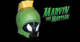 Máscara Looney Tunes de Marvin, o Marciano!