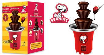 Fonte de Chocolate Snoopy Fondue Maker