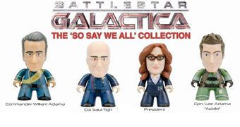 "Mini-Figuras Battlestar Galactica ""So Say We All"" TITANS Mini (Blind-Box)"