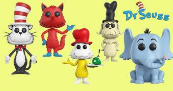 Bonecos Pop! Dr. Seuss