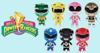 Mighty Morphin Power Rangers Plushies – Bonecos de Pelúcia Funko